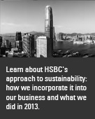 HSBC Sustainability Report 2012